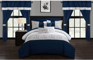 Chic Home Sonjae 20 Piece Bed in a Bag Comforter Set
