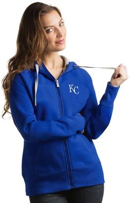 Antigua Women's Kansas City Royals Victory Full-Zip Hoodie
