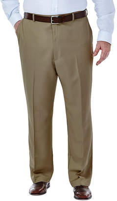Haggar Cool 18 No-Iron Flat-Front Pants - Big & Tall