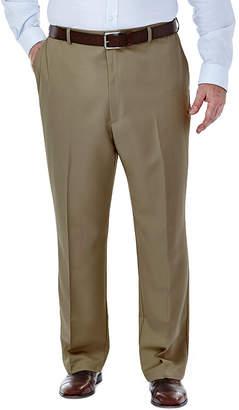 Haggar Cool 18 No-Iron Flat-Front Pants - Big & Tall