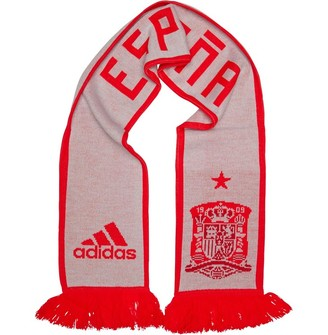58a116938d637 adidas FEF Spain Away Scarf Halo Blue/Bright Red