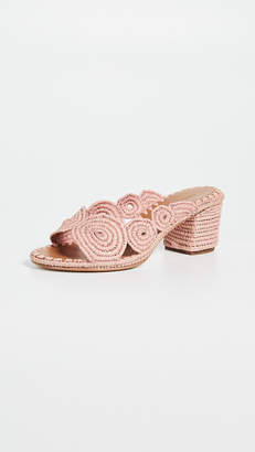 Carrie Forbes Ayoub Heeled Mules