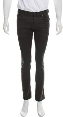 Prada Twill Flat Front Pants