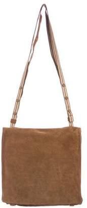 Bottega Veneta Suede Messenger Bag