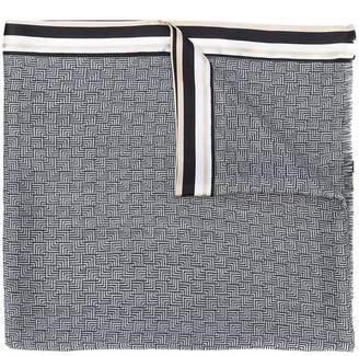 Haider Ackermann long striped scarf