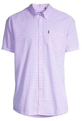 Barbour Shirt Shop Highland Seersucker Short-Sleeve Button-Down Shirt