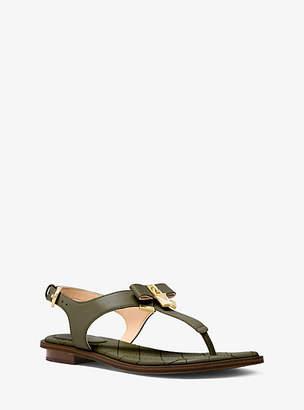 Michael Kors Alice Leather Sandal