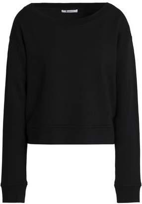 Alexander Wang Mélange Cotton-Blend Sweatshirt