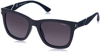 Police Men's Spl357 Polarized Square Sunglasses