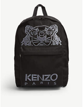 Kenzo Tiger canvas backpack
