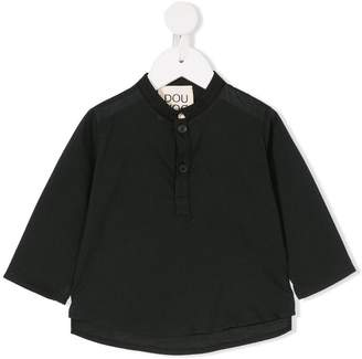 Douuod Kids mandarin collar top