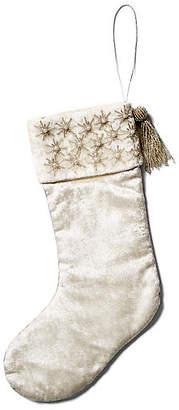 """Joanna Buchanan 14"""" Star Stocking - Silver"""