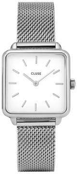 Cluse La Garçonne CL0001 Stainless Steel Sqaure Analog Watch