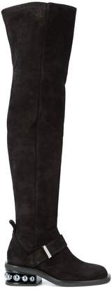 Nicholas Kirkwood 35mm Casati Pearl OTK boots
