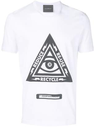 John Richmond 3R's print T-shirt