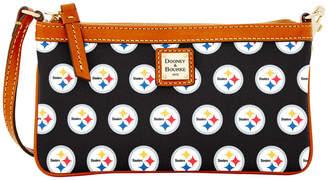 Dooney & Bourke NFL Steelers Large Slim Wristlet