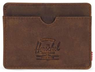 Herschel Charlie Leather Card Case