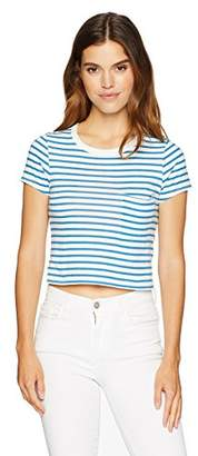 Pam & Gela Women's Striped Tee