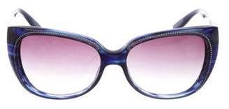 Barton Perreira Secret Alibi Cat-Eye Sunglasses