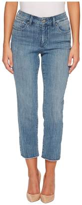 NYDJ Petite Petite Sheri Slim Ankle w/ Fray Hem in Maxwell Women's Jeans