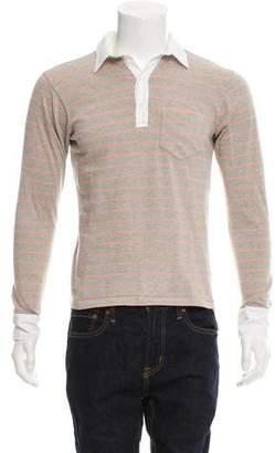 Balenciaga Button-Up Polo Shirt