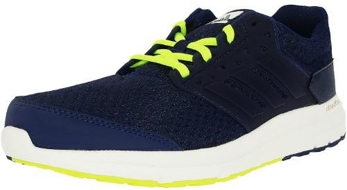 Adidas Men's Galaxy 3 Purple/White/Yellow Ankle-High Mesh Running Shoe - 8M