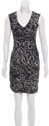 La Petite S***** Linen Blend Ruched Dress Black Linen Blend Ruched Dress