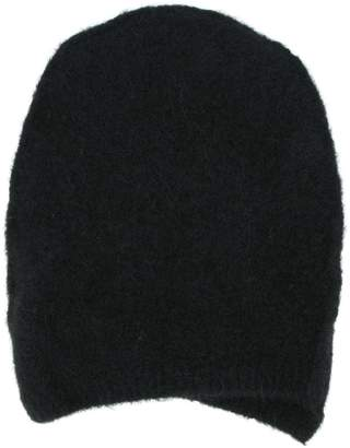 Isabel Benenato knitted beanie hat