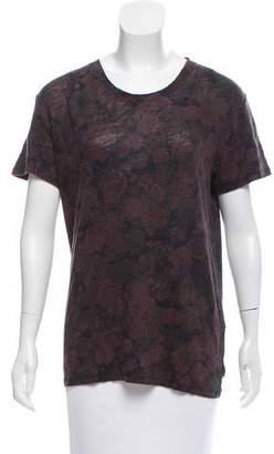 IRO Linen Short Sleeve Top w/ Tags