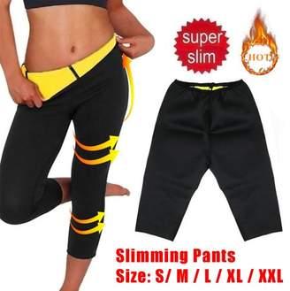 Kadell Grtxinshu S-XXXL Women Hot Sweat Thermal Slimming Waist Shaper Sauna Short/Long Sleeve Pants Fitness Slimming Workout Women Body Shaper Sports Pants