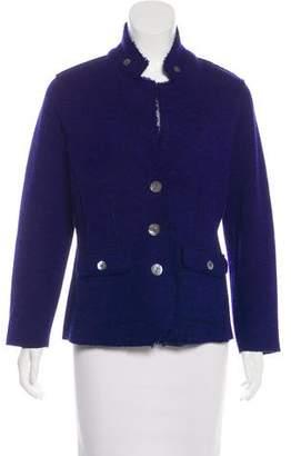Eileen Fisher Lightweight Button-Up Jacket