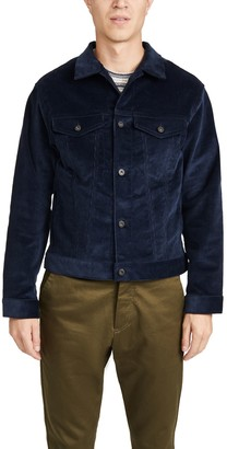 Naked & Famous Denim Indigo Corduroy Denim Jacket