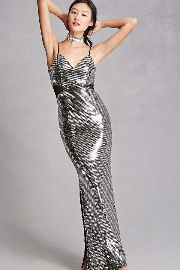 FOREVER 21+ Sequined Maxi Dress