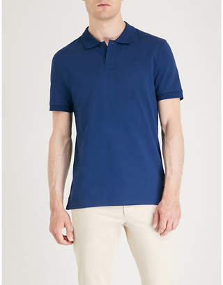Tiger of Sweden Osron logo-embroidered cotton polo shirt