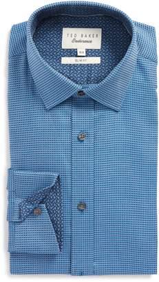 Ted Baker Endurance Slim Fit Box Twill Dress Shirt