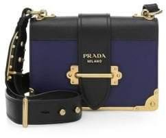 Prada City Saffiano Leather Cahier Bag