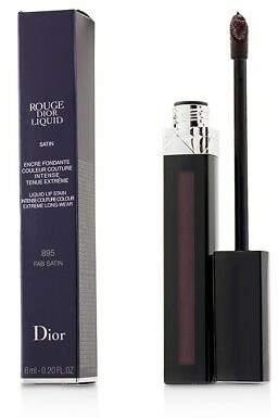 Christian Dior NEW Rouge Liquid Lip Stain (# 895 Fab Satin (Red) 6ml/0.2oz