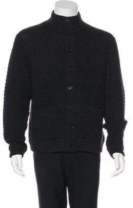 Billy Reid Wool Heavyweight Cardigan