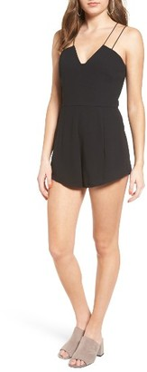 Women's Leith Strappy Sweetheart Romper $69 thestylecure.com