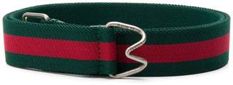 Gucci Web striped belt