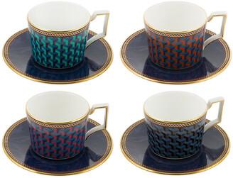 Wedgwood Byzance Espresso Cup & Saucer
