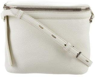 Kara Leather Stowaway Crossbody Bag