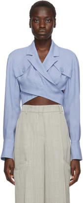 Jacquemus Blue Le Haut Azur Shirt