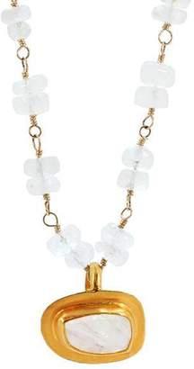 Lori Kaplan Jewelry Moonstone Pendant Necklace