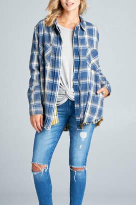 Paper Crane Plaid Jacket
