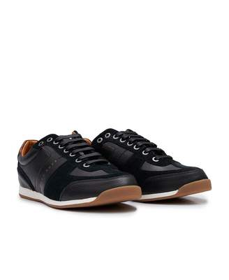 Boss Casual Footwear BOSS Casual Footwear Maze Low Leather Suede Trainers