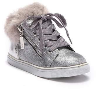 Naturino Express Teodora Faux Fur Lined Sneaker (Toddler, Little Kid, & Big Kid)