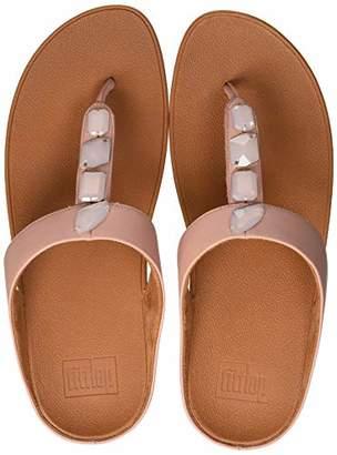 e9b1f5f6f FitFlop Women s Roka Thong Open Toe Sandals Dusky Pink 535