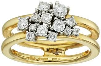Miseno Vesuvio 18k Gold Ring with diamonds Ring