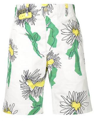 Julien David floral deck shorts $600 thestylecure.com